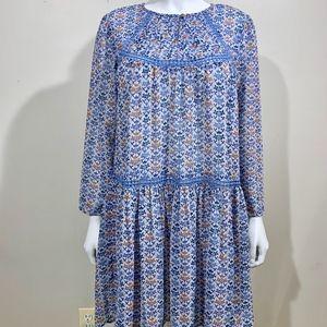 Anthropologie Dresses - Holding Horses Anthropologie Floral Tunic Dress